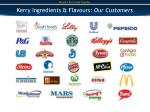 kerry ingredients flavours our customers