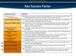 key success factor