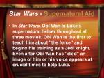 star wars supernatural aid
