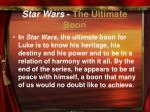 star wars the ultimate boon