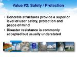 value 2 safety protection