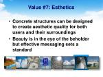 value 7 esthetics