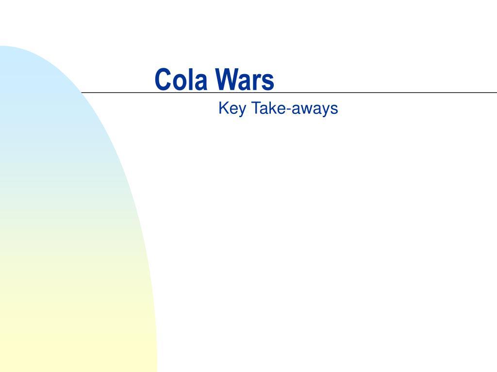 cola wars l.