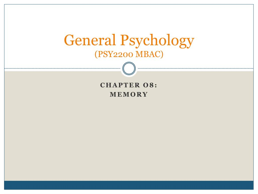 general psychology psy2200 mbac l.
