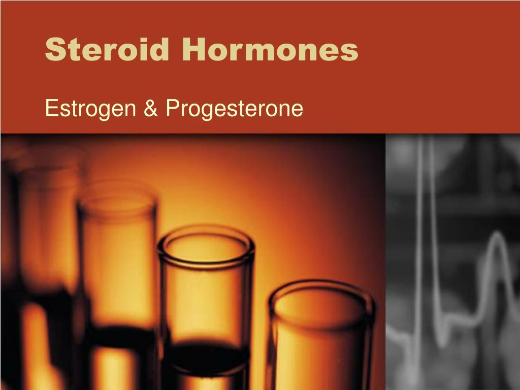 steroid hormones l.
