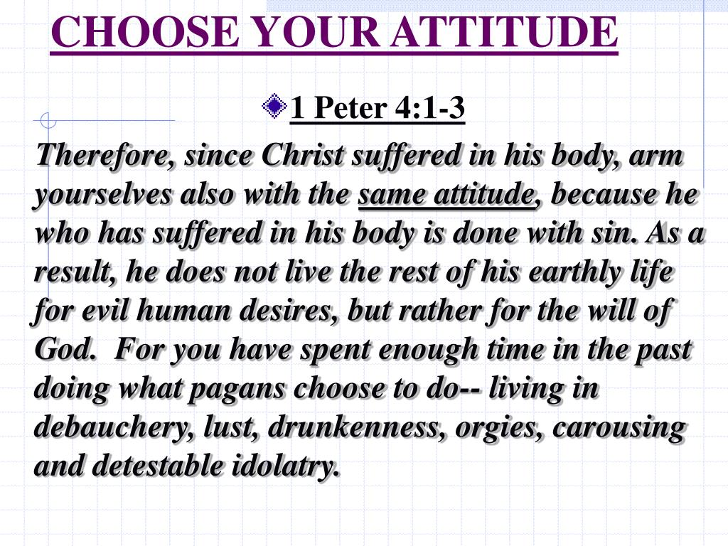 choose your attitude l.