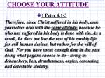 choose your attitude