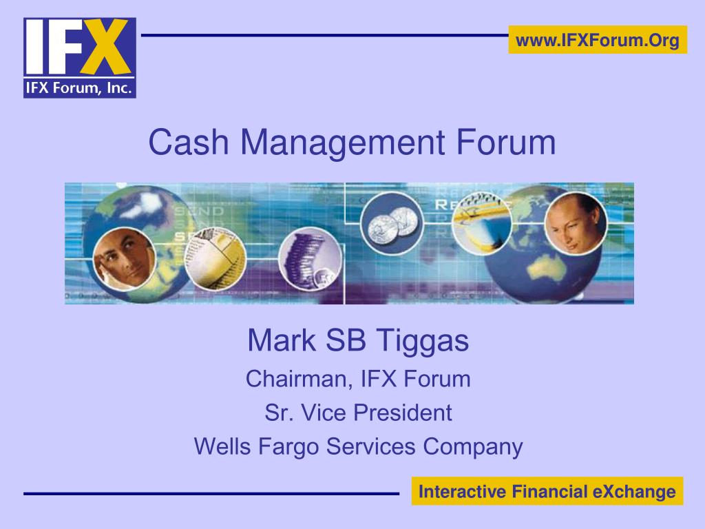 cash management forum l.