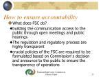 how to ensure accountability23