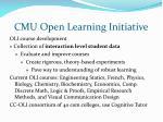 cmu open learning initiative23