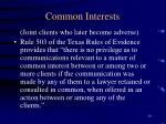 common interests20