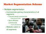 market segmentation scheme19