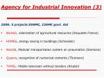 agency for industrial innovation 3