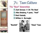 7 c teen culture