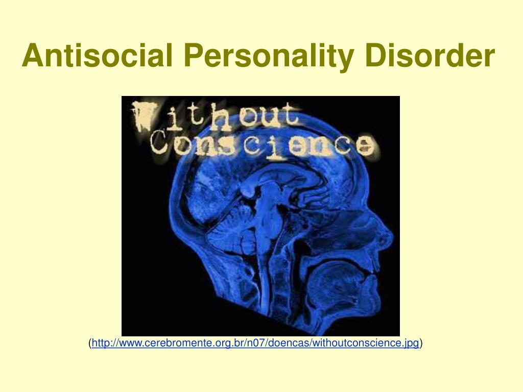 antisocial personality disorder l.