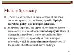 muscle spasticity