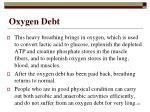 oxygen debt102