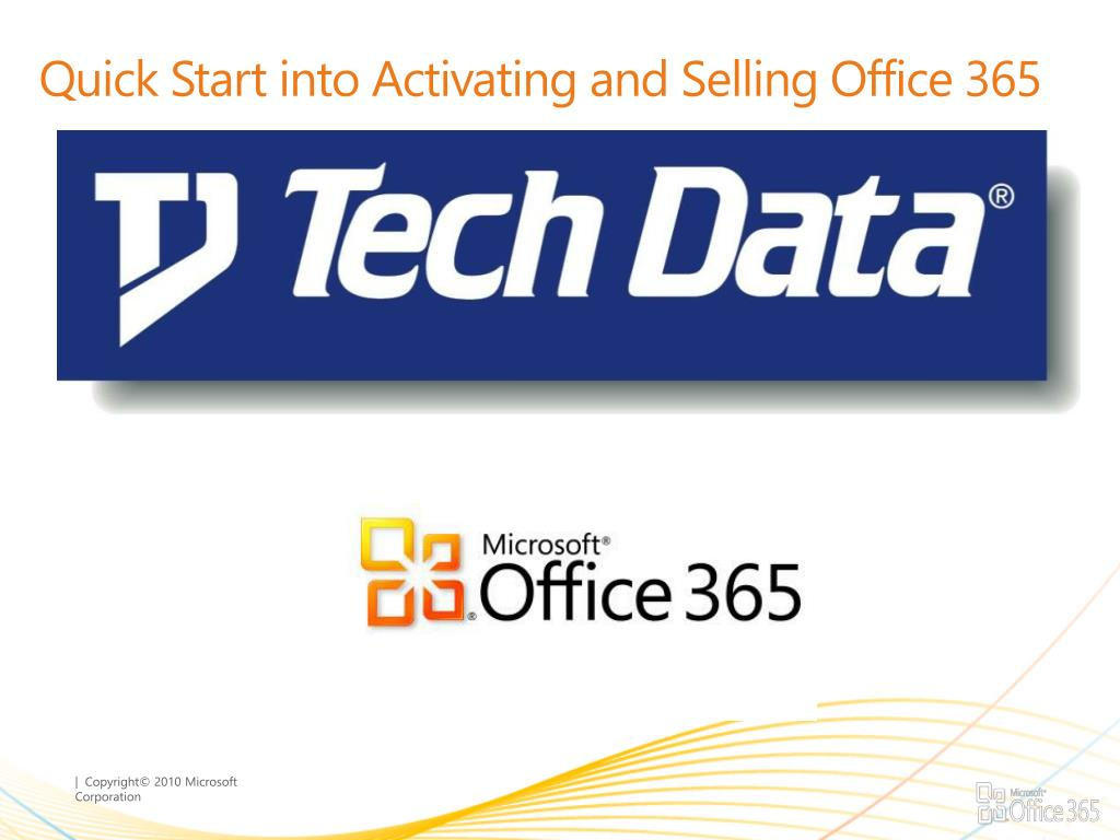 quick start into activating and selling office 365 l.