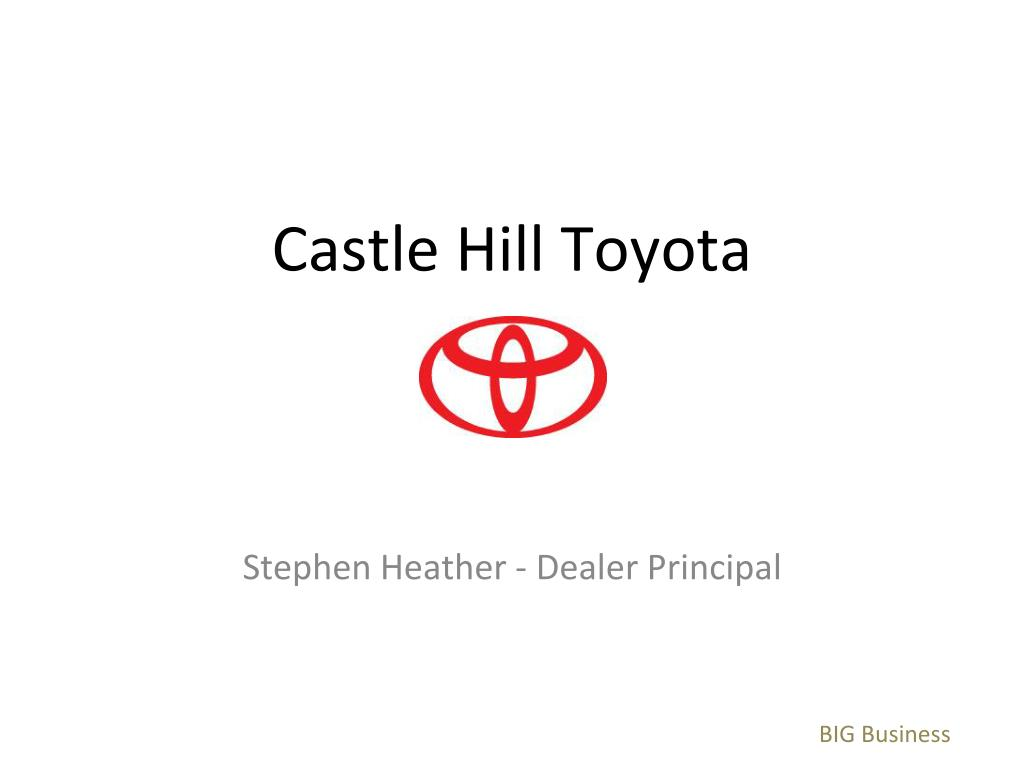 castle hill toyota l.