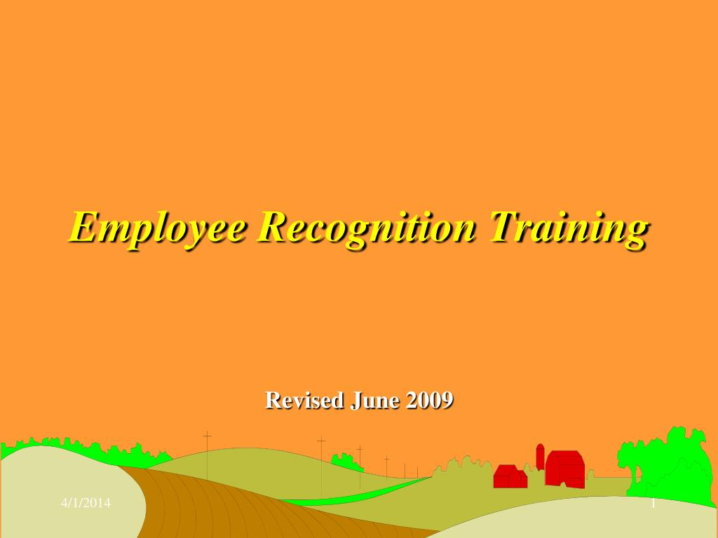 employee recognition training l.
