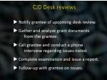 cjd desk reviews