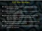 cjd site reviews