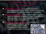 financial accounting systems recurring findings