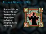 project director pd