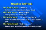 negative self talk