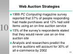 web auction strategies