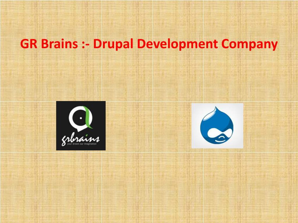 gr brains drupal development company l.