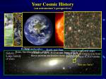 your cosmic history an astronomer s perspective