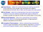 lws tr t strategic goals