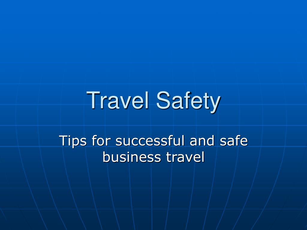 travel safety l.