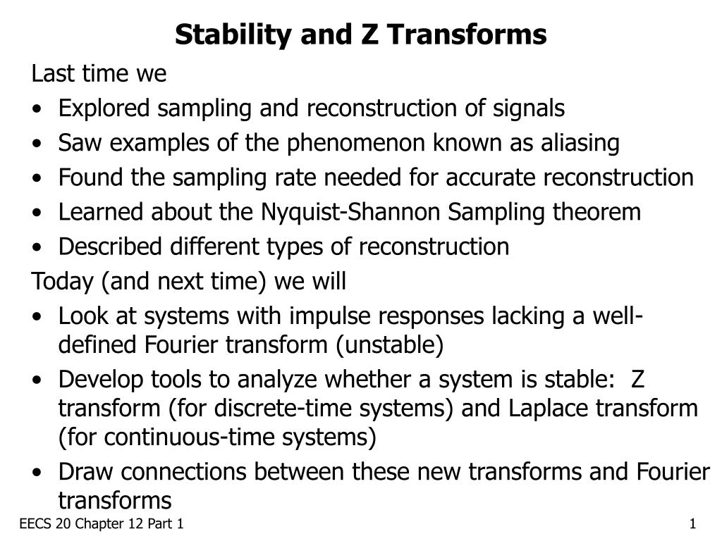 stability and z transforms l.