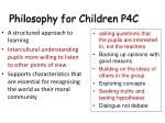 philosophy for children p4c