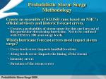 probabilistic storm surge methodology