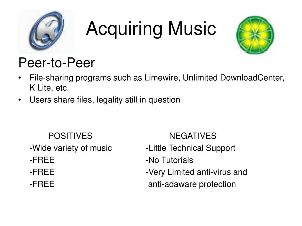 Acquiring Music