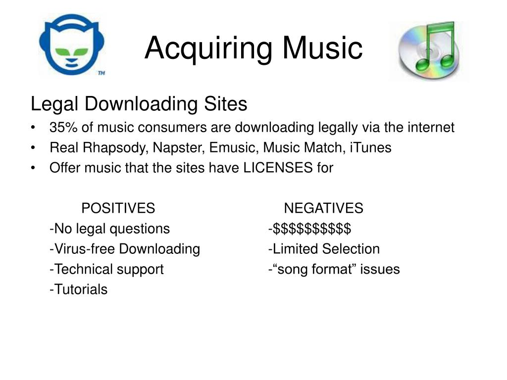 internet and the music industry No one should have to fear losing their internet connection because of unfounded accusations the music industry shouldn't be able to cut off your internet access.