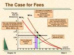 the case for fees