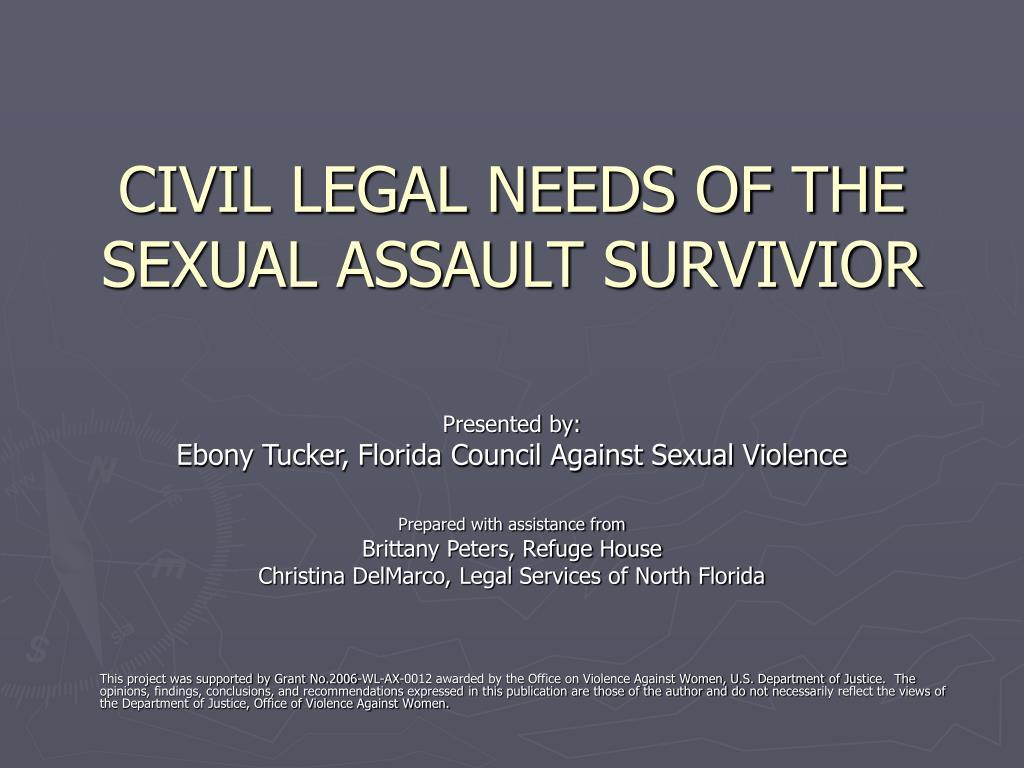 civil legal needs of the sexual assault survivior l.