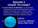 episode 3 coast to coast