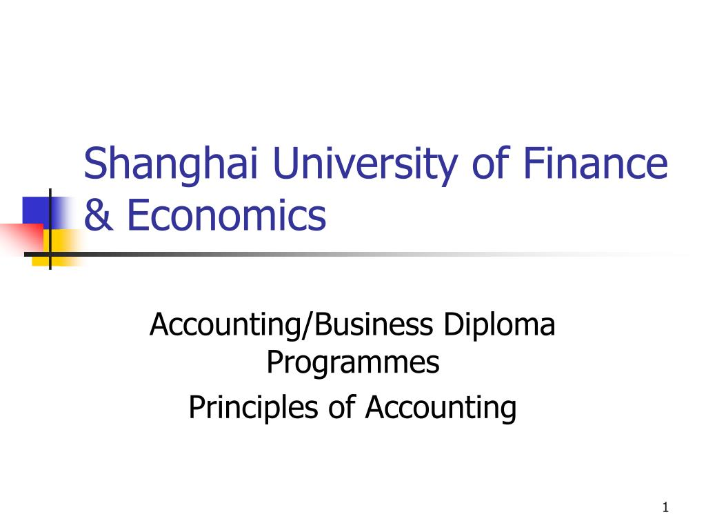 shanghai university of finance economics l.