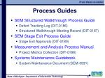 process guides