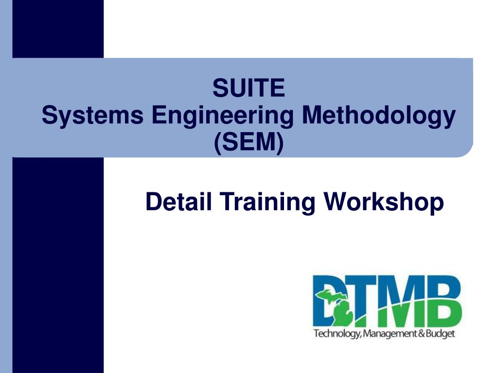suite systems engineering methodology sem l.