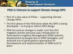 psia in vietnam to support climate change dpo