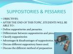 suppositories pessaries