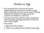 chicken vs egg