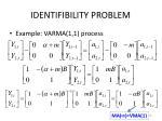 identifibility problem20