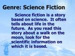 genre science fiction